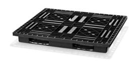 El Eco P3 es una alternativa atractiva al palet de madera estándar CP 7 para la industria química y reúne todas las ventajas de los palets de plástico.