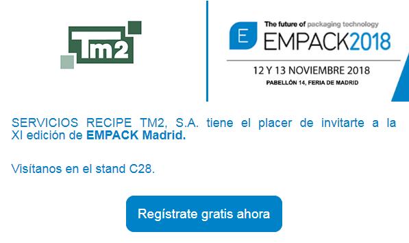 TM2 en Empack Madrid 2018