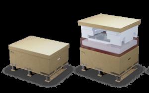 La revisión de embalajes ha generado una logística más eficiente