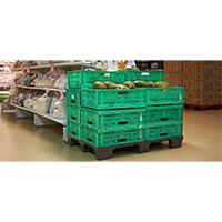 6 Beneficios para el Sector hortofrutícola con la utilización del palet de plástico