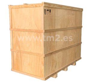 Cajas de madera contrachapada