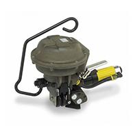 Flejadora Manual neumática para fleje de Acero A482