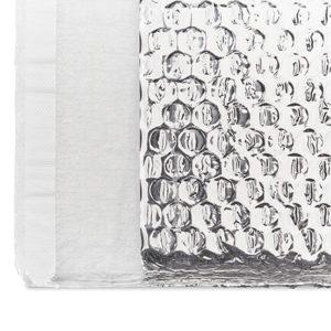 bolsa térmica de plástico de burbujas con recubrimiento de aluminio