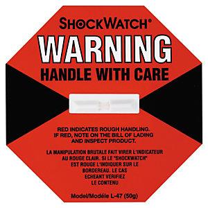 Indicador de Impacto ShockWatch©