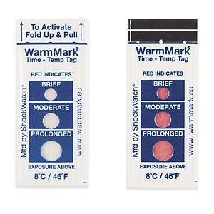Indicador de temperatura ascendente WARM WarmMark©