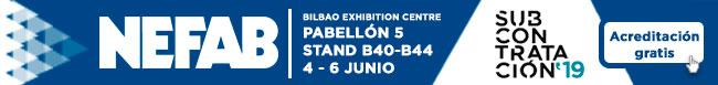 NEFAB asistirá a la Feria Internacional de Procesos y Equipos para la Fabricación