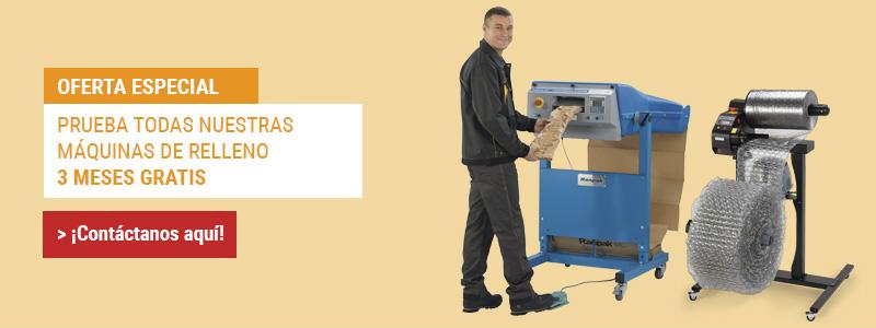 Oferta Especial Máquinas y Sistemas Relleno Embalaje