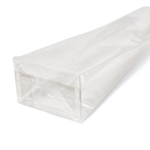 bolsa con fondo plano con pliegue lateral OPP