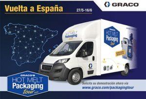 Controlpack muestra las últimas innovaciones en pegado de cajas y estuches de cartón en una gira por España