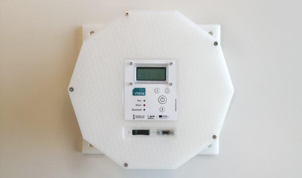 El dispositivo que capta hasta 20 variables distintas de temperatura, humedad, concentración de gases, etcétera