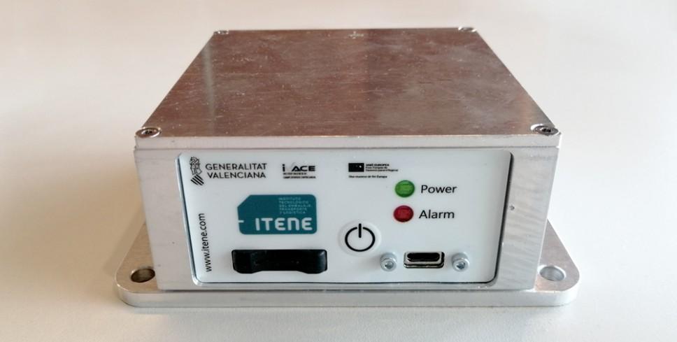 El dispositivo de sensorización DR3, que capta choques y vibraciones