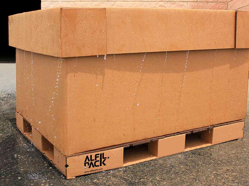 Solución de embalaje de Alfilpack para transporte de productos perecederos.