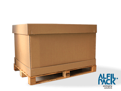 Box palet plegables