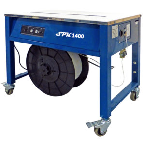 Flejadora de mesa semiautomática SPK 1400