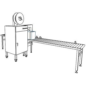 La SPK 2000 se puede integrar fácilmente en líneas completamente automáticas.