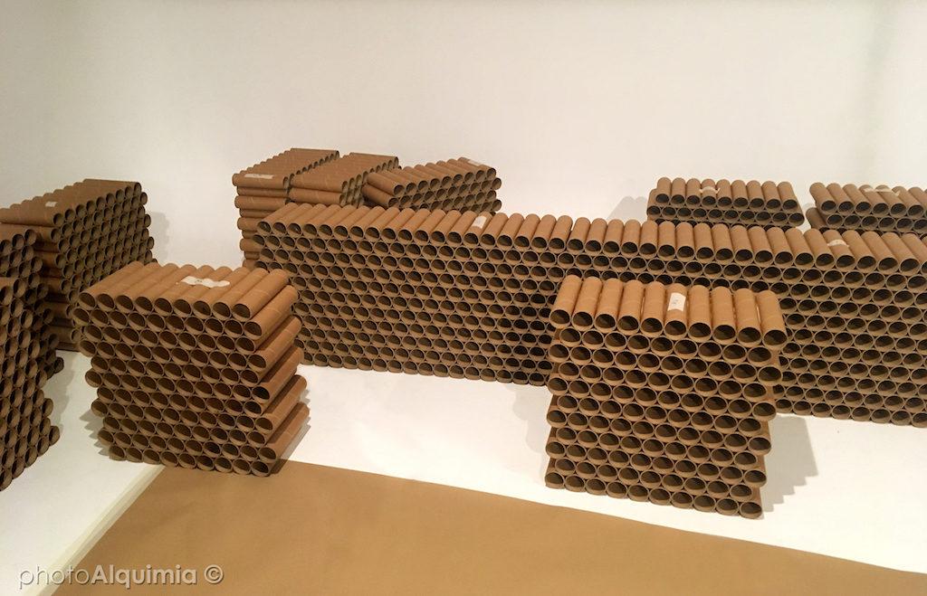 tubos de cartón 100% reciclado