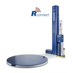 Masterplat – Enfardadora de palets semiautomática de plataforma