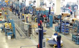 Robopac – línea de producción