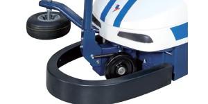 Parachoques frontal de emergencia para parada inmediata a través del freno motor
