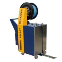 La flejadora vertical semiautomática SPK 2700 es la solución portátil para el flejado vertical de palets.