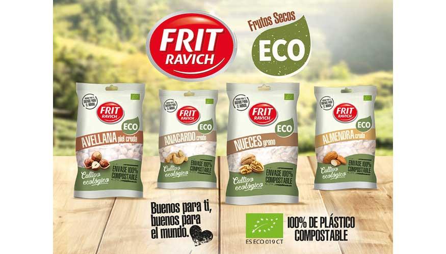 La firma Frit Ravich ha resultado ganadora con el envase 100% compostable para contener sus frutos secos de cultivo ecológico.