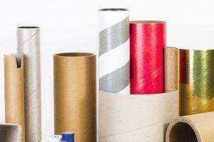 tubos industriales de carton