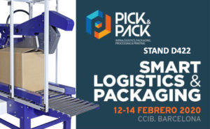 Stand D422de Controlpack en la Feria Pick & Pack