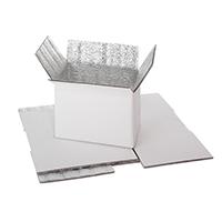 Cajas de cartón revestidas de foam de 5mm