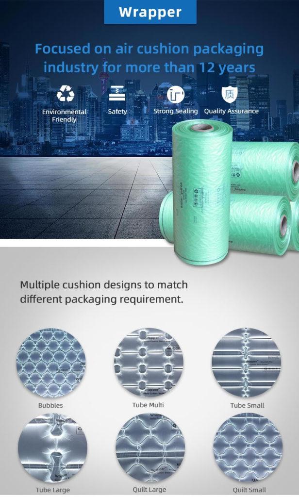 sistemas de acolchado inflables