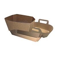 Bandejas y cestas de cartón